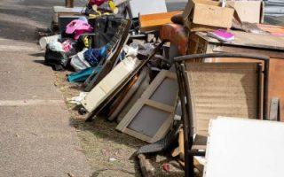 møbler avfall